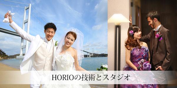 HORIOの技術とスタジオ